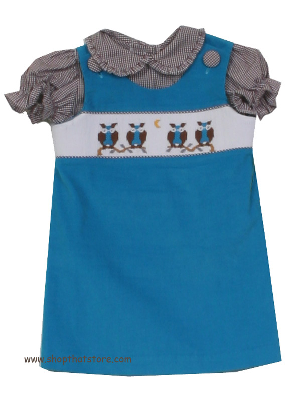 Zuccini Owl Aline Dress