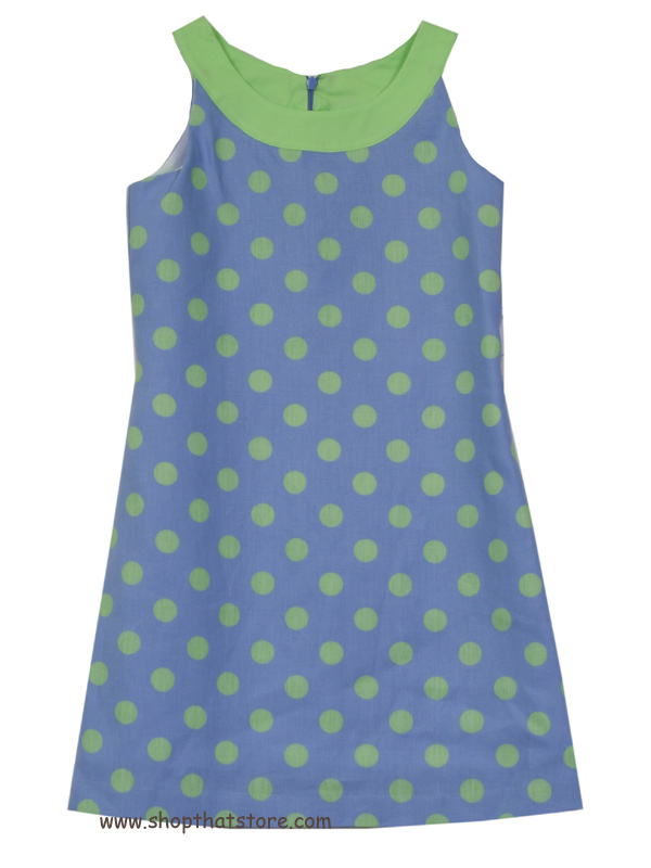 Maggie Breen Dot Shift Dress