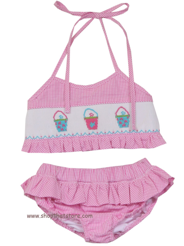 Zuccini Sandpails Two Piece Swimsuit